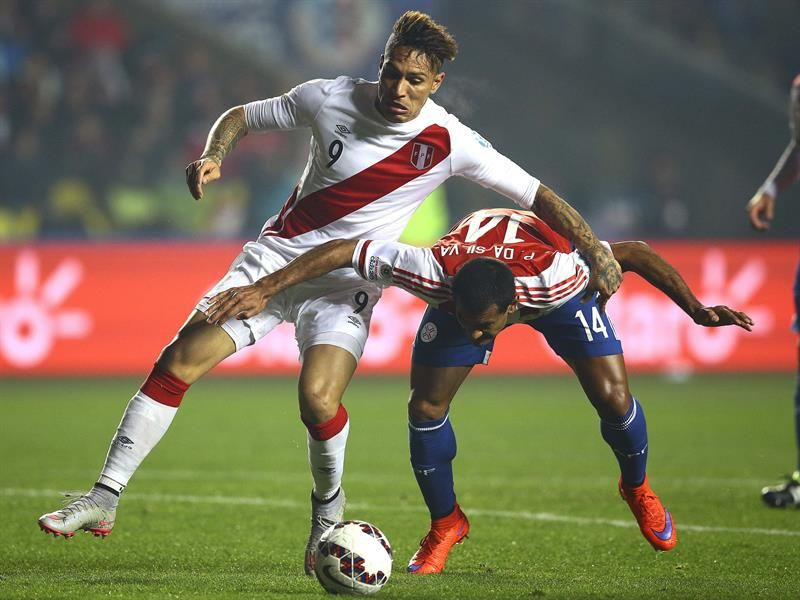 Paraguay sufre otro revés y queda sin podio en la Copa América. Foto: EFE