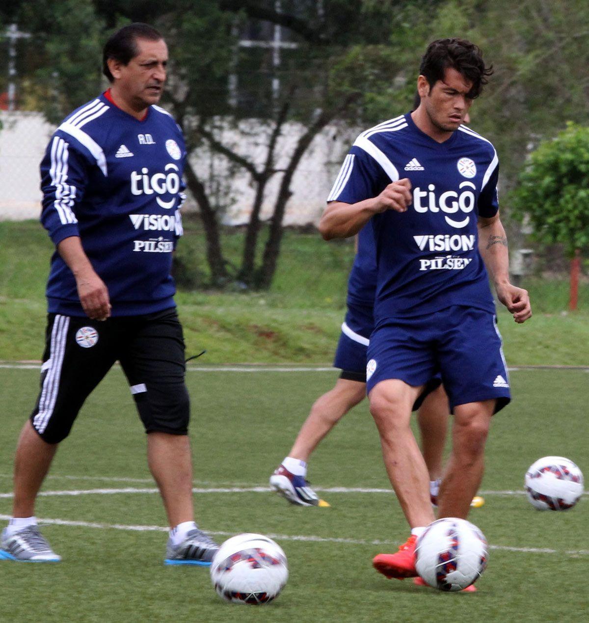Ramón Díaz mantuvo a Nelson Haedo Valdez en la lista de 23. Foto: Última Hora
