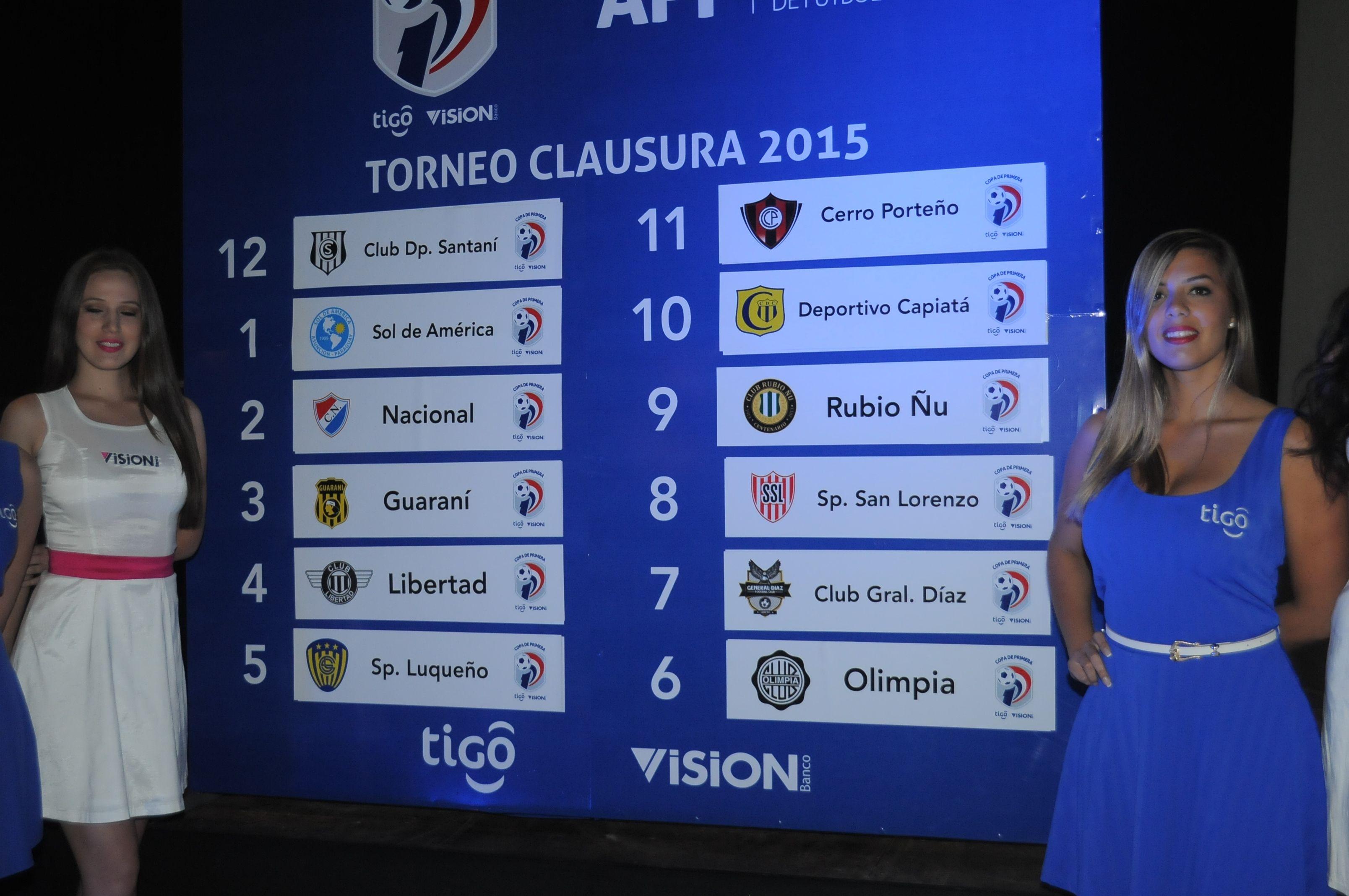 Olimpia debutará ante Luqueño en el torneo Clausura 2015. Foto: Última Hora.