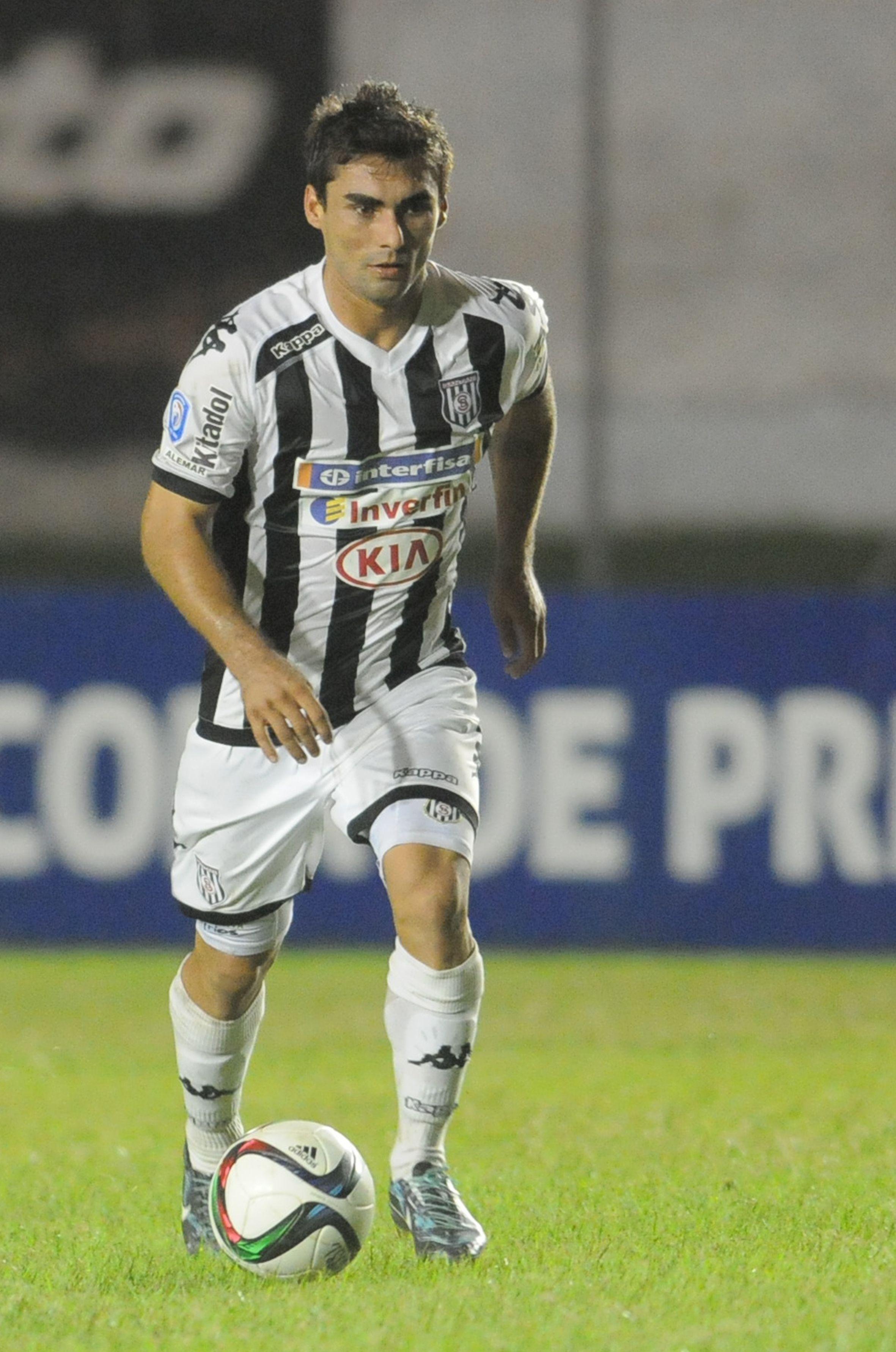 El goleador santaniano volverá a activar con normalidad. Foto: Última Hora.