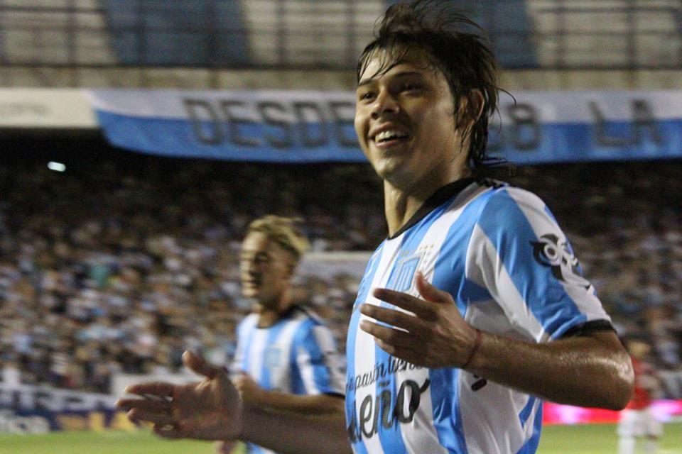 Racing Club volvió al triunfo tras golear a Colón con un equipo alternativo. Foto: Facebook-Racing