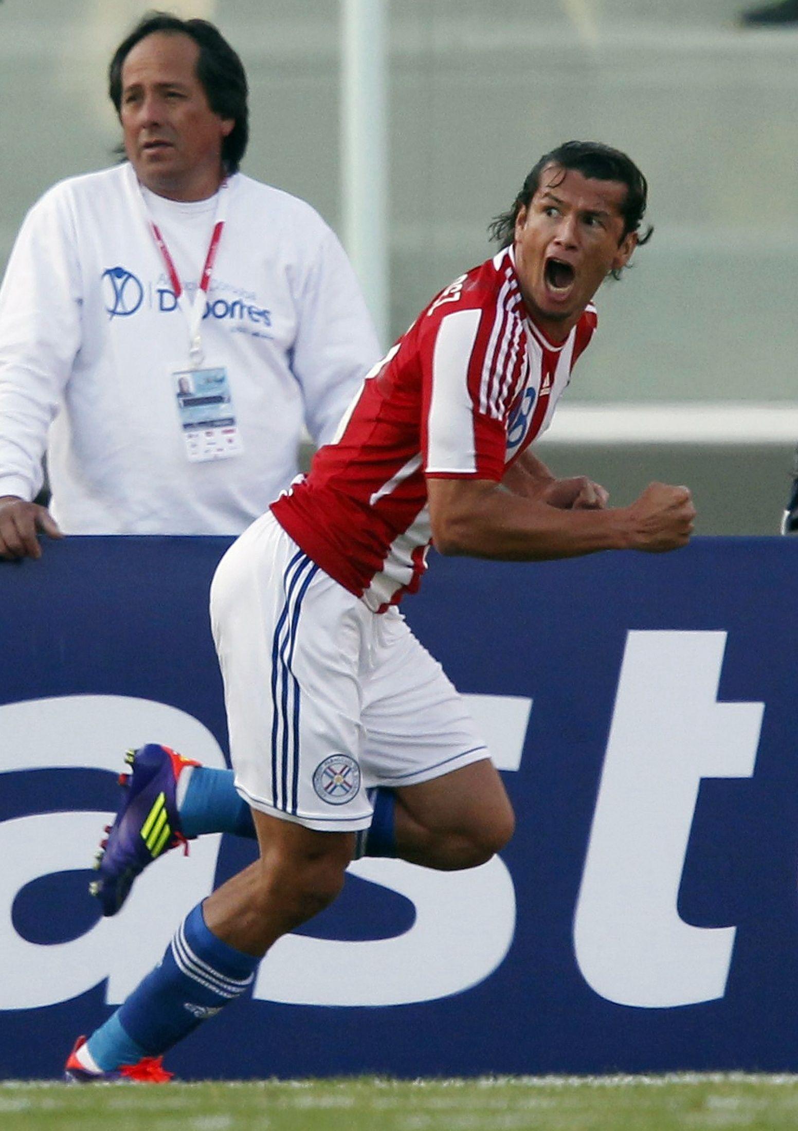 El sueño de Haedo es jugar su tercera Copa América con Paraguay. Foto: Última Hora.