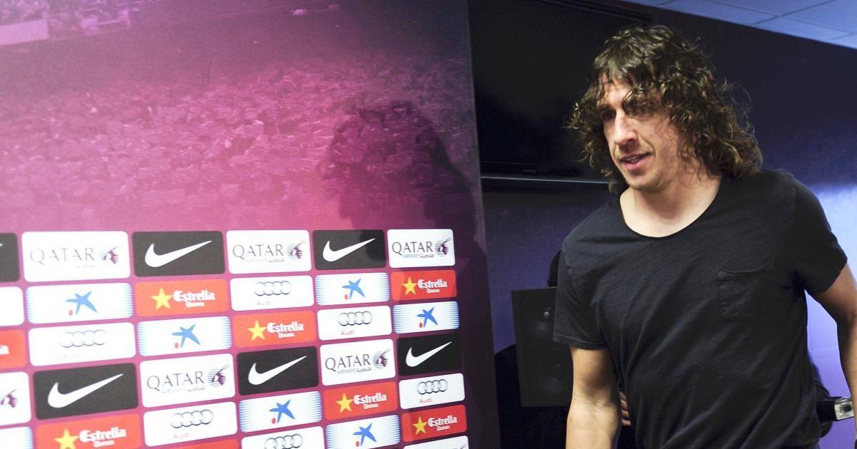 Puyol espera regresar a su casa. Foto:melty.es