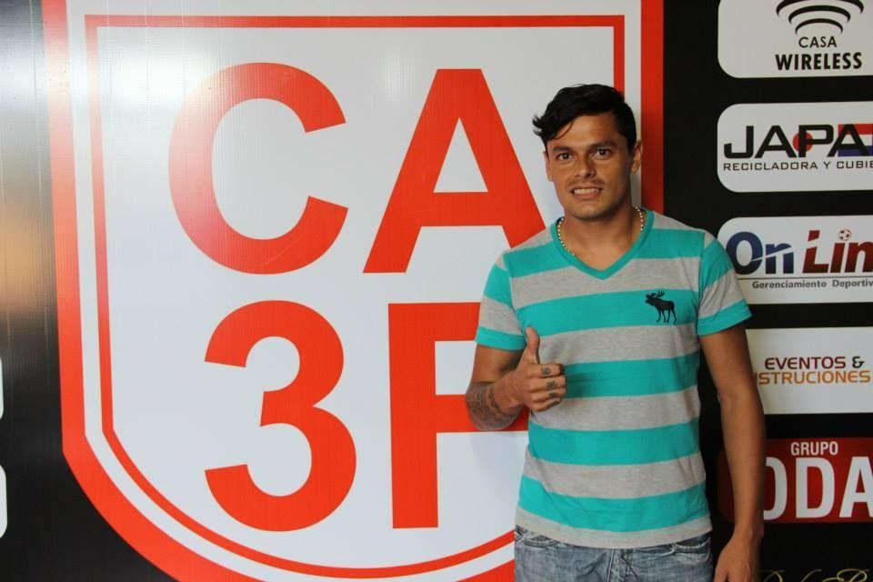 El jugador formó parte de la plantilla del 3 de Febrero en este 2014. Foto: Última Hora.