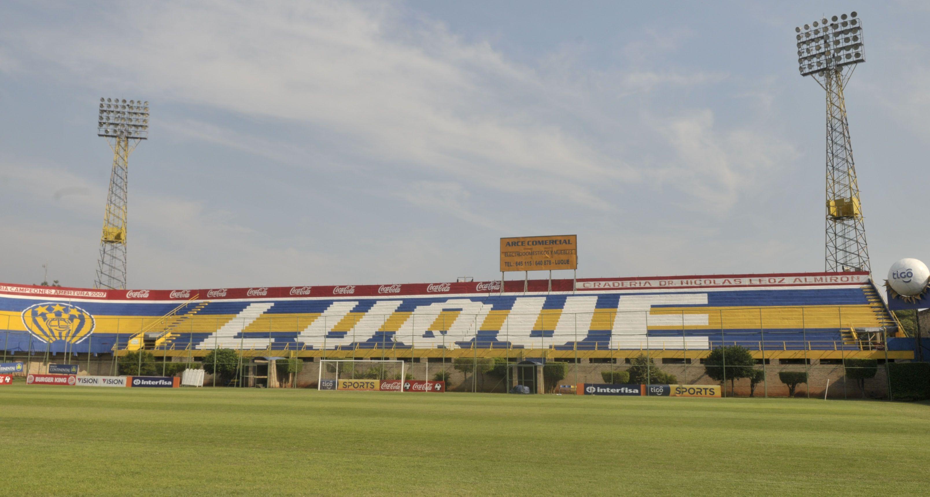 El estadio Feliciano Cáceres de Luque fue elegido como sede para la final del certamen. Foto: Última Hora.