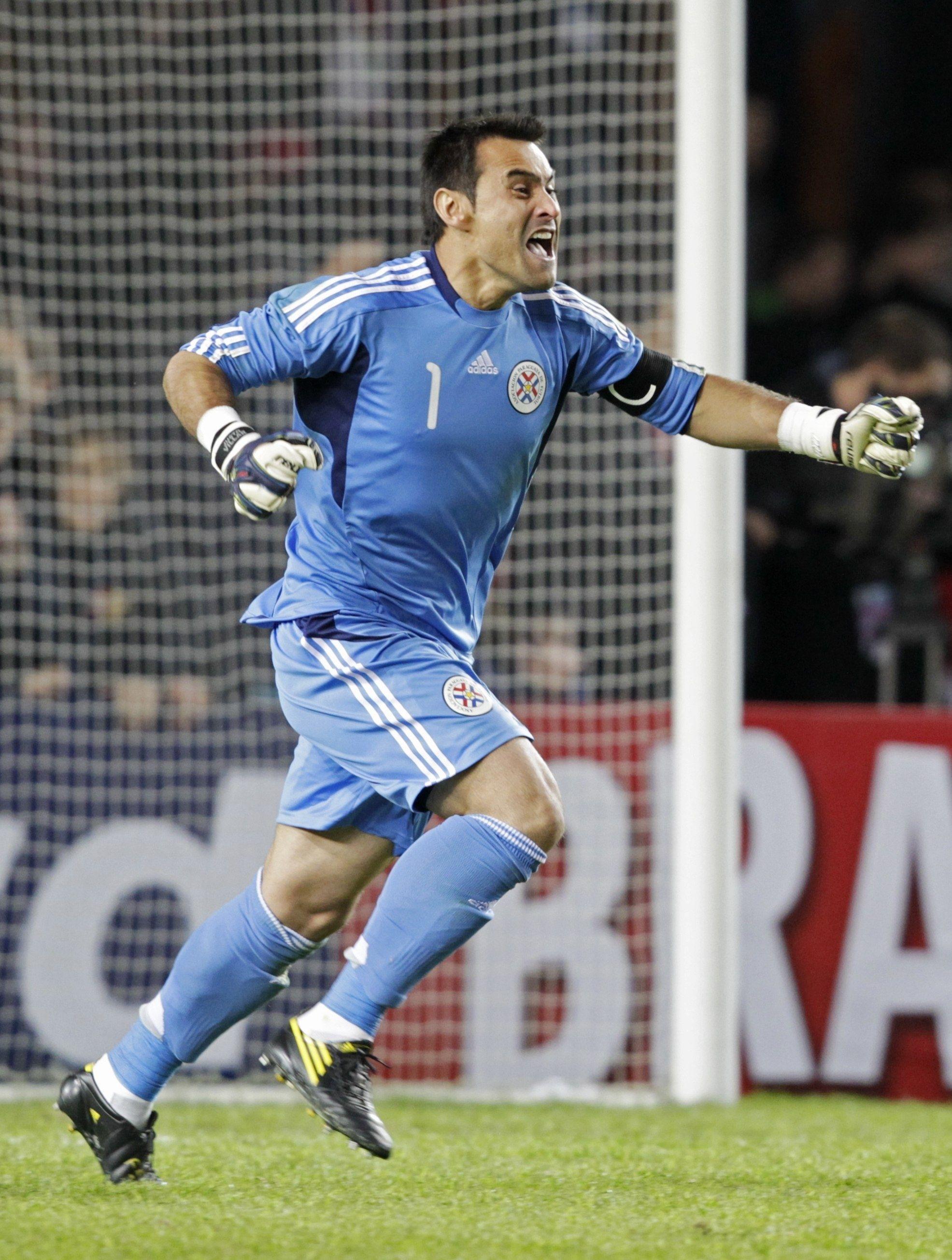 Justo Villar fue el mejor portero de la Copa América 2011. Foto: Archivo.