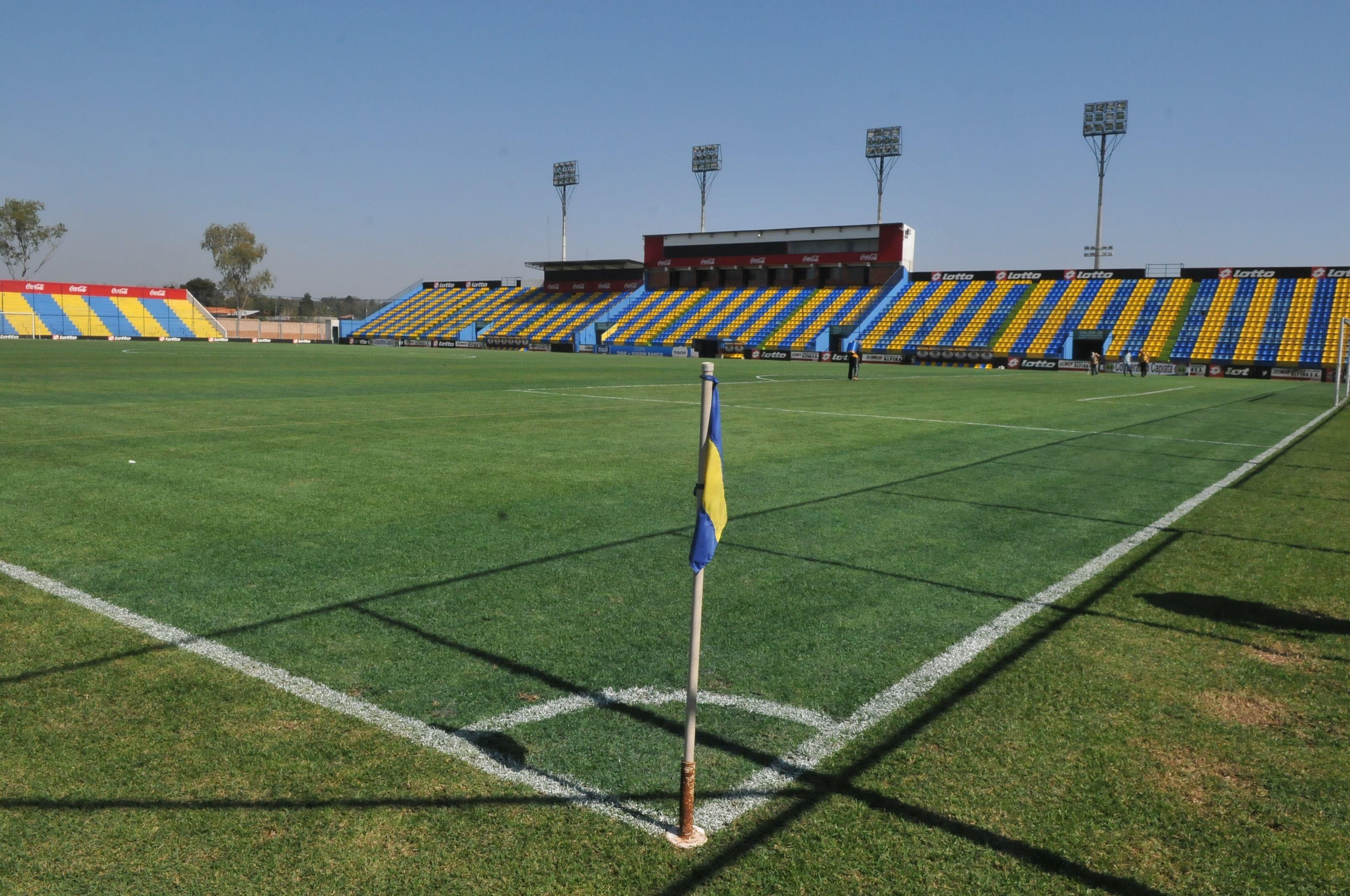 El estadio del Deportivo Capiatá quiere albergar el juego internacional. Foto: G. Irala – Última Hora.