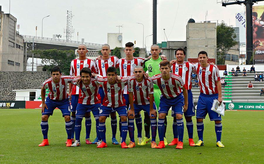 Por el título. La AlbirrojaSub 16 quiere obtener la Copa México de Naciones en el estadio Azteca. Foto: Prensa-Albirroja