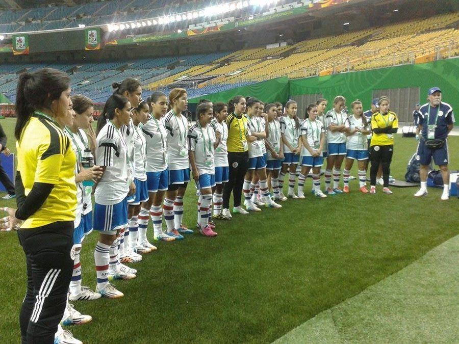 Concentradas. Paraguay debe ganar para seguir con vida en la Copa femenina Sub 20.