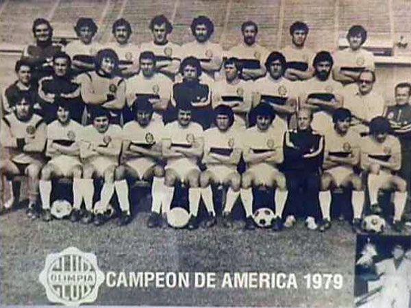 El equipo campeón de América en 1979. Foto: Archivo - Última Hora.