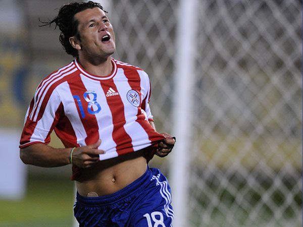Haedo fue uno de los grandes artífices de la clasificación paraguaya al Mundial de Sudáfrica 2010
