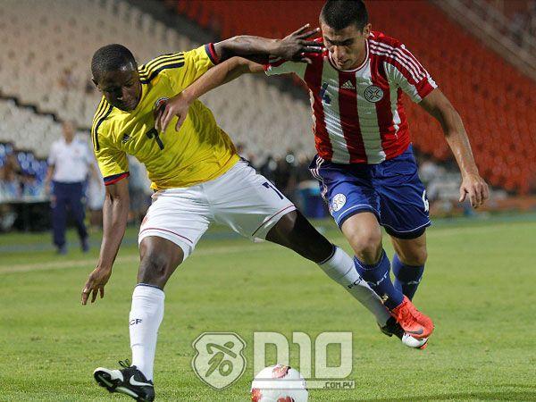 Los albirrojos no pudieron ante Colombia y Paraguay quedó segundo. Foto: Última Hora.