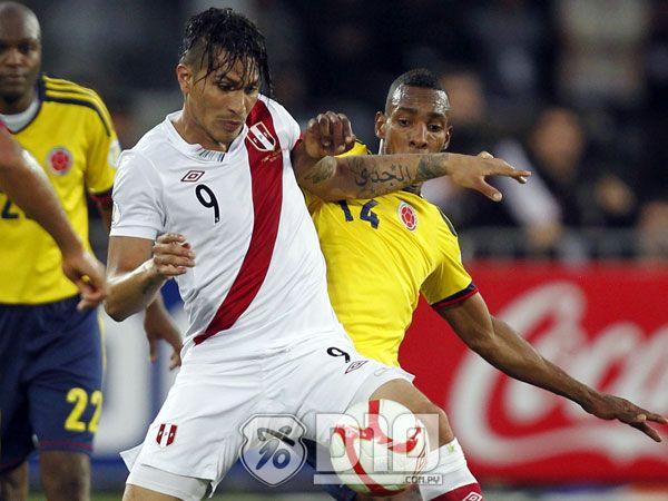El delantero peruano Paolo Guerrero no estará en el Mundial Foto: EFE.