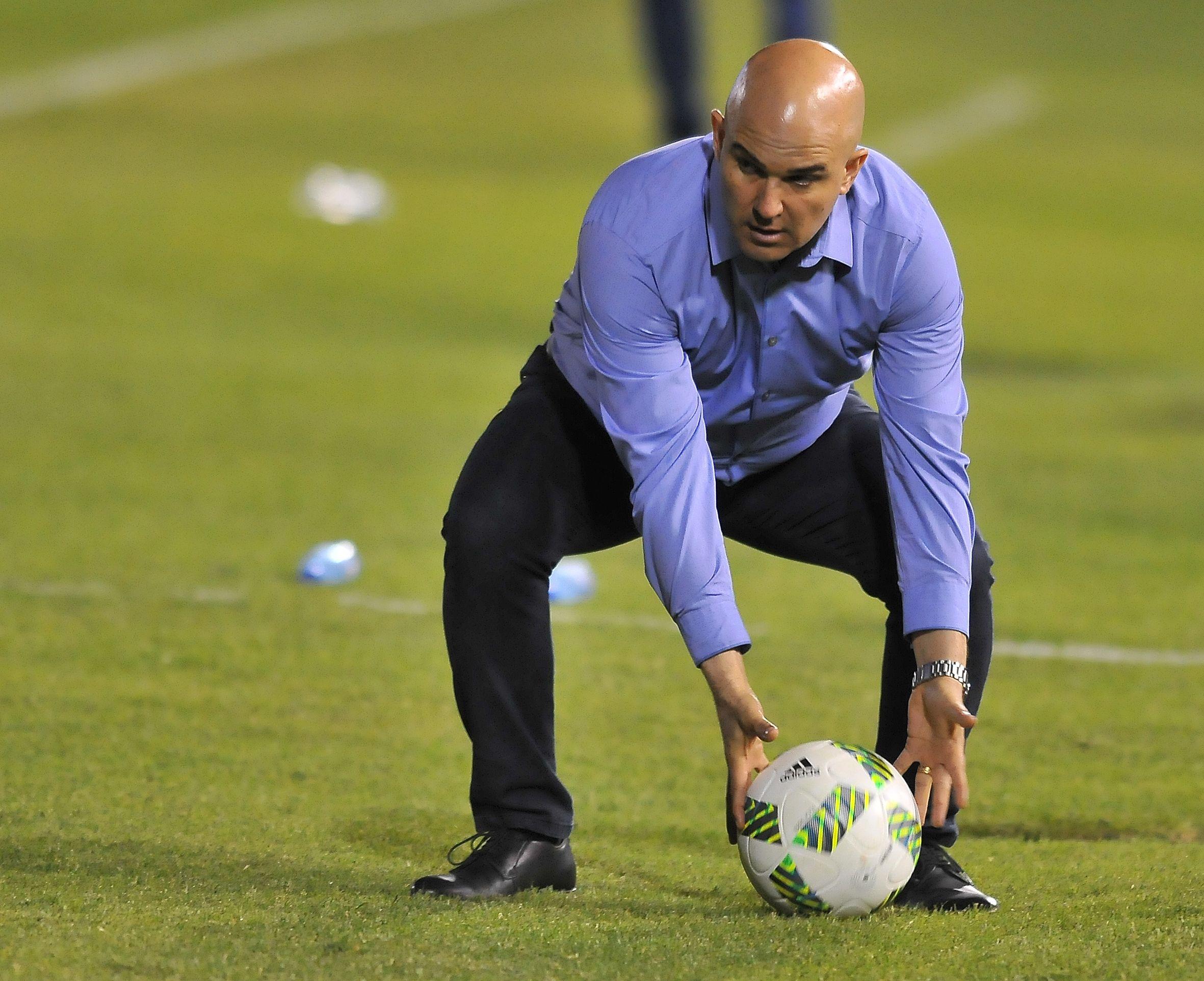 Fernando Jubero será el técnico de Cerro. Foto: Fernando Calistro/Última Hora