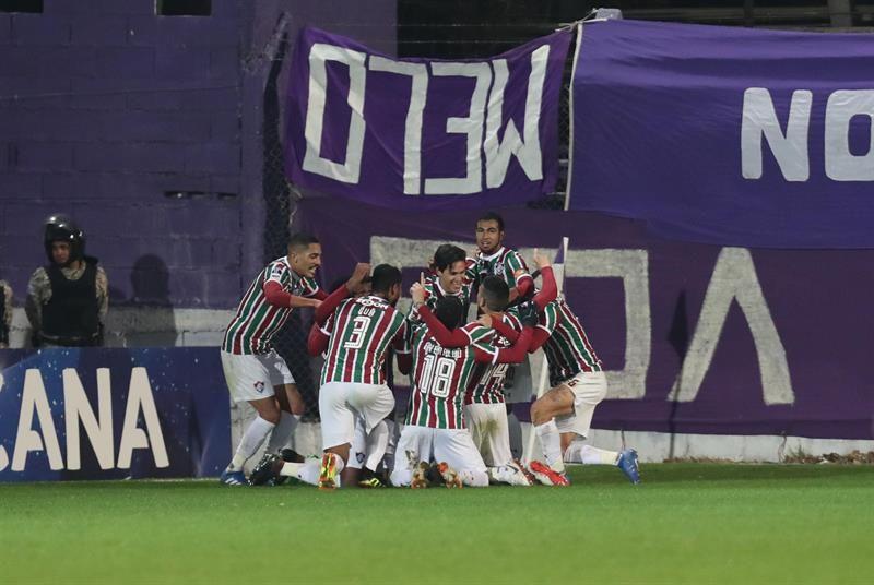 Pedro termina con el sueño violeta y sella pase de Fluminense a octavos. Foto: EFE