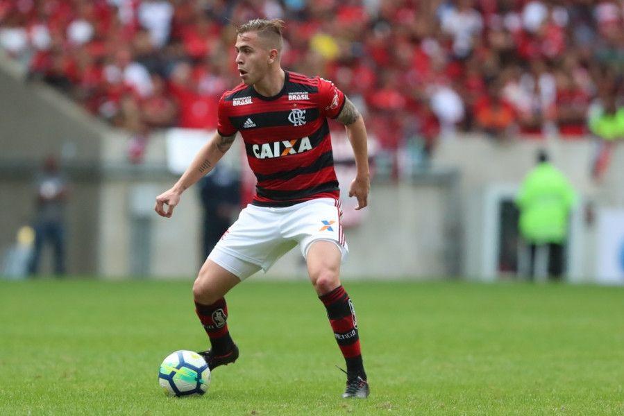 Robert Piris Da Motta debutó oficialmente en Flamengo.