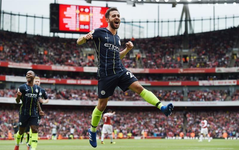 El campeón amarga el debut de Emery en la Premier League. Foto: EFE