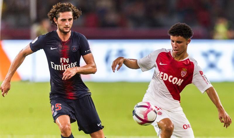Rabiot declinó una oferta de renovación del PSG. Foto: EFE