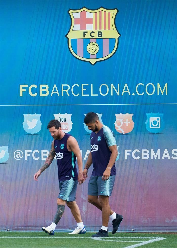 Messi tendrá el brazalete de capitán en esta temporada. Foto: EFE