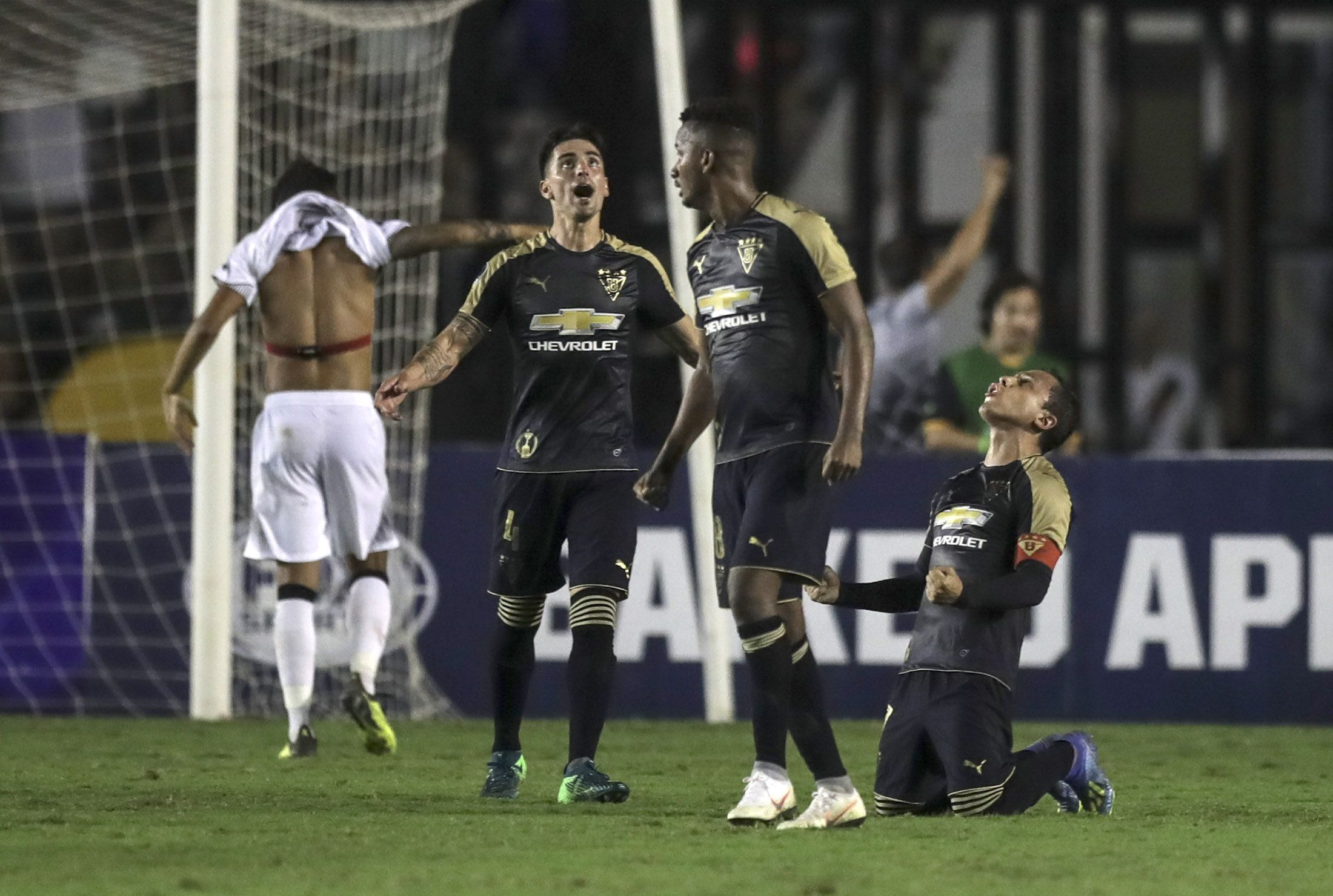 Liga de Quito avanzó a octavos de la Sudamericana. Foto: EFE