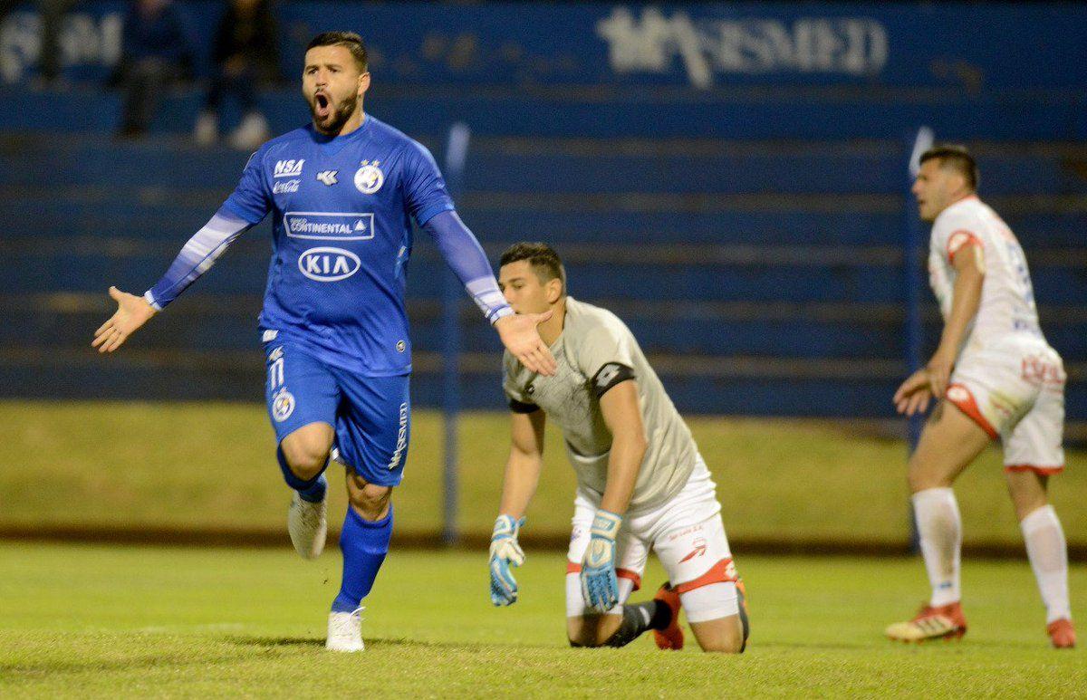 Ernesto Álvarez marcó el primer gol de Sol. Foto: APF Oficial.