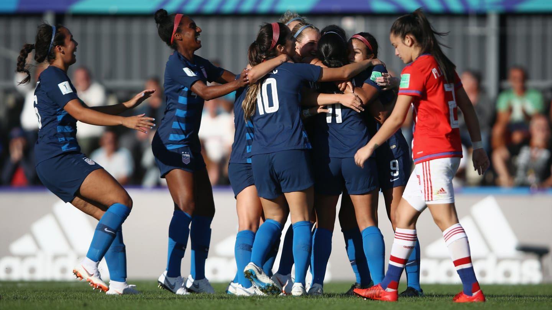 Paraguay fue goleado por Estados Unidos. Foto: FIFA