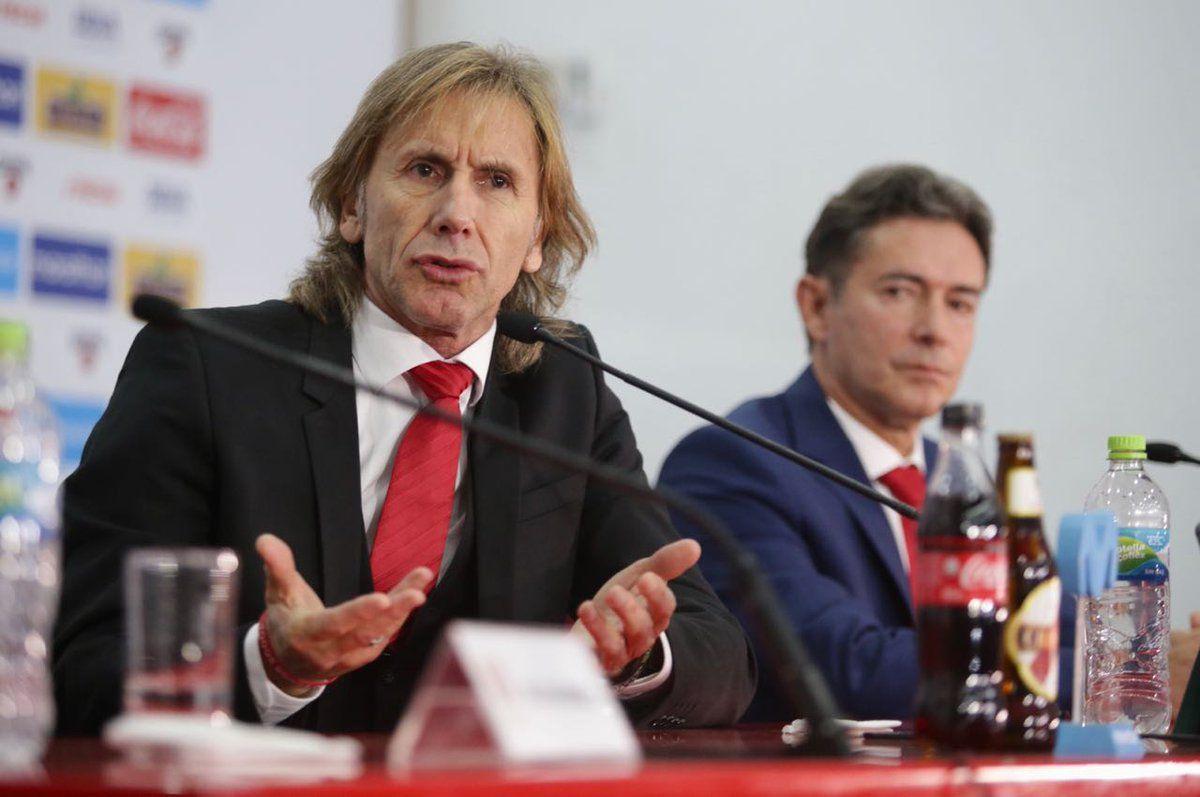 Ricardo Gareca renovó con Perú. Foto: FPF