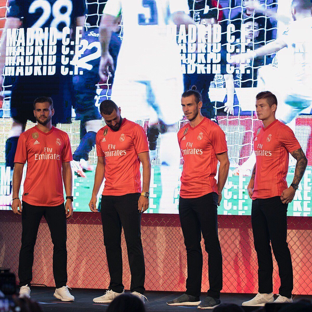Así luce la tercera camiseta del Real Madrid. Foto: @realmadrid