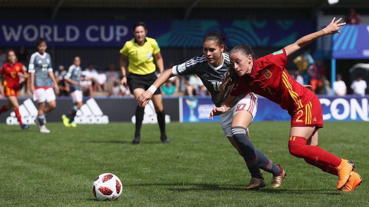 Paraguay no pudo ante España. Foto: Prensa Albirroja