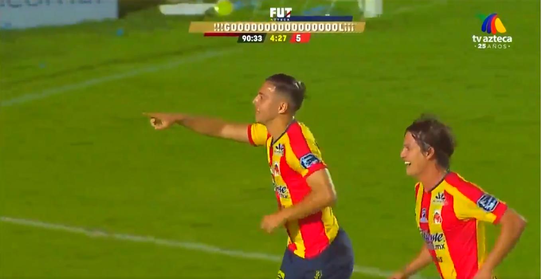 Ferreira hizo el 2-1 transitorio en el partido ante Veracruz.