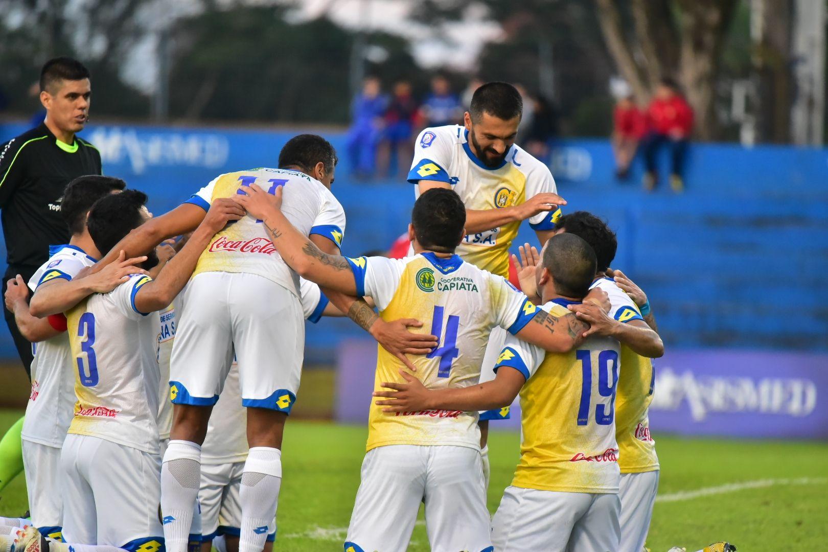 Salcedo es la carta de gol de Capiatá. Foto: Fernando Calistro – Última Hora.