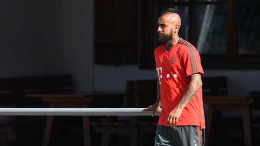 Vidal deja la concentración del Bayern entre rumores de fichaje por el Barça. Foto: Gentileza