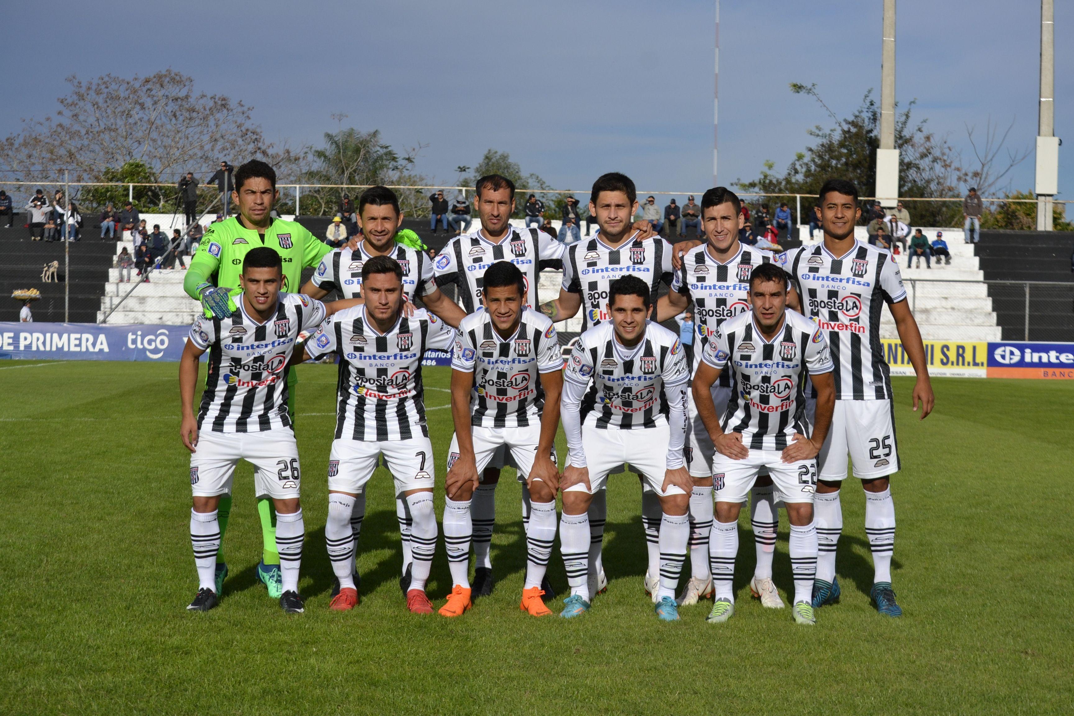 El Deportivo Santaní mide a Martín Ledesma. Foto: Última Hora