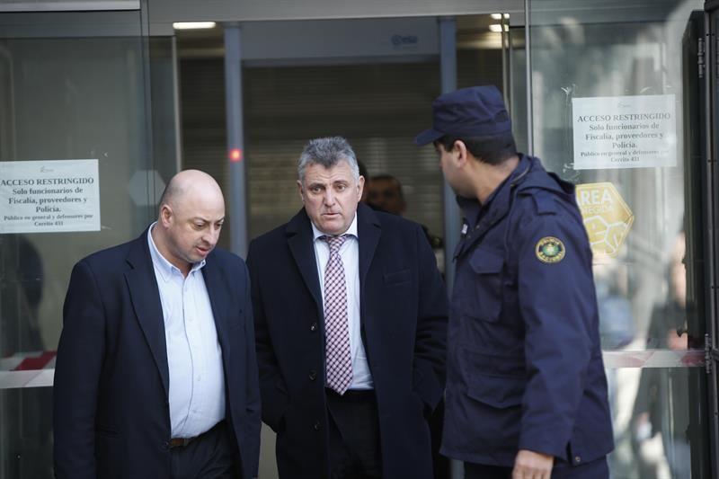 Wilmar Valdez declaró este miércoles ante la fiscalía uruguaya. Foto: EFE