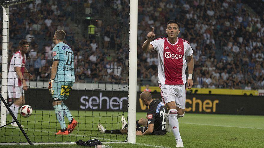 El Ajax se metió en la tercera ronda de la Champions League. Foto: @AFCAjax - Twitter