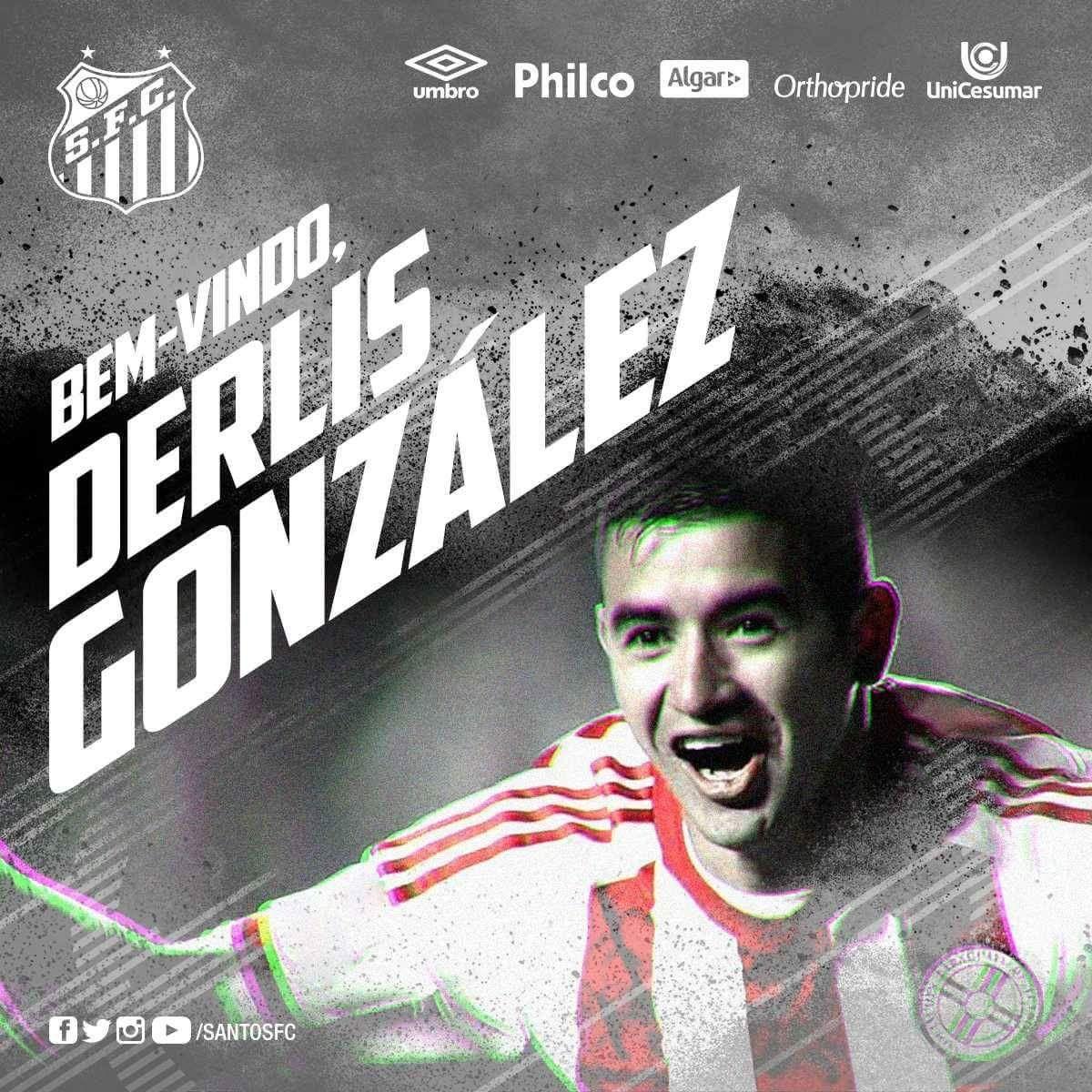 Santos dio la bienvenida oficial a González.