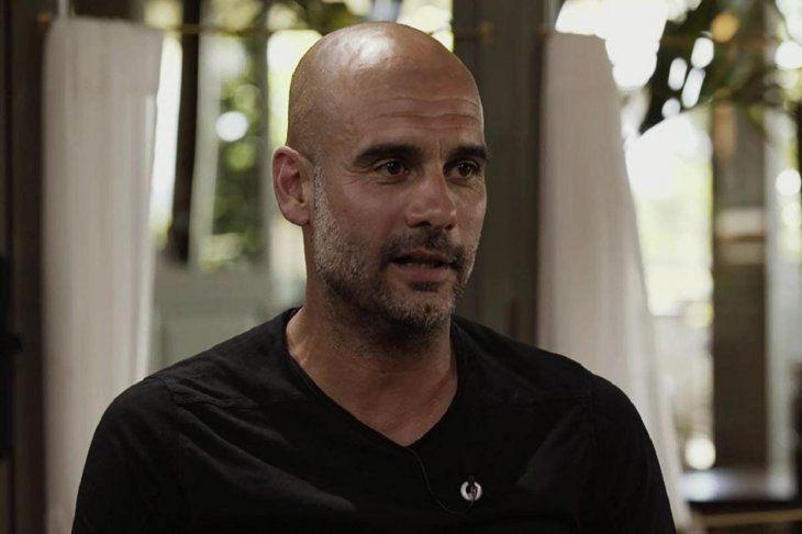 Guardiola dijo que le gustaría dirigir una selección en un futuro.