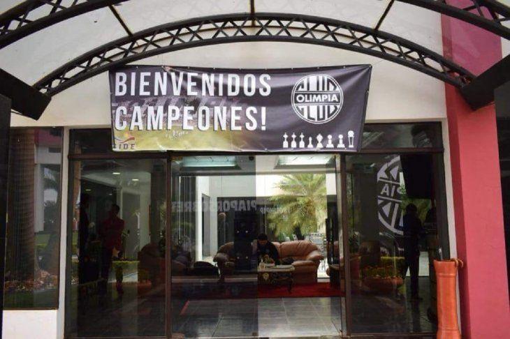 Olimpia ya se encuentra en Ciudad del Este.