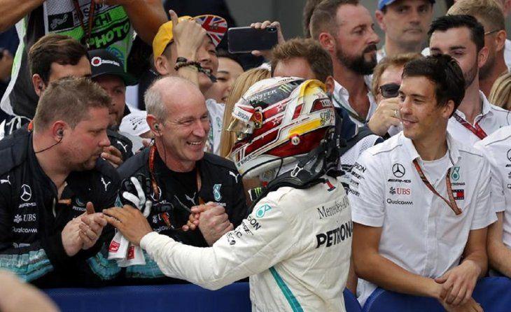 Lewis Hamilton (Mercedes) ganó este domingo el Gran Premio de Rusia.