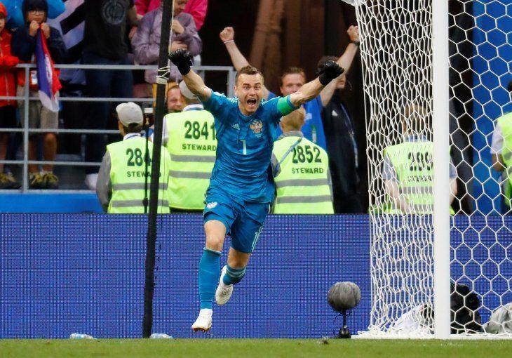 El portero fue vital para la campaña en el Mundial de Rusia 2018.