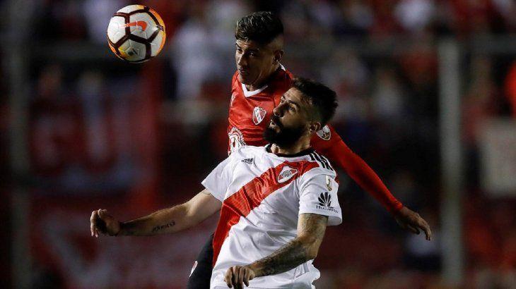 River e Independiente chocan este martes.