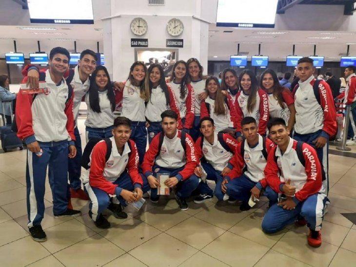 La delegación juvenil paraguaya se instaló en Buenos Aires.