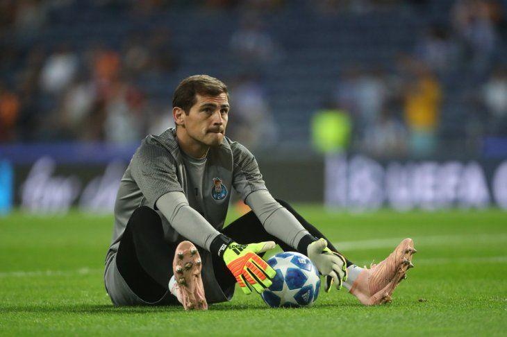 Casillas fue la gran figura en la victoria de su equipo.