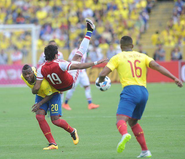 El amistoso entre Ecuador y Paraguay cayó.