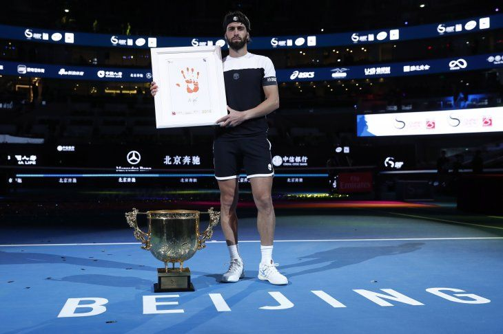 Basilashvili supero a Del Potro en China.