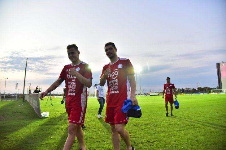 La Albirroja entrenó bajo el mando de Osorio