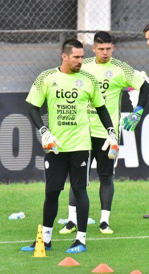 Antony Silva y Alfredo Aguilar