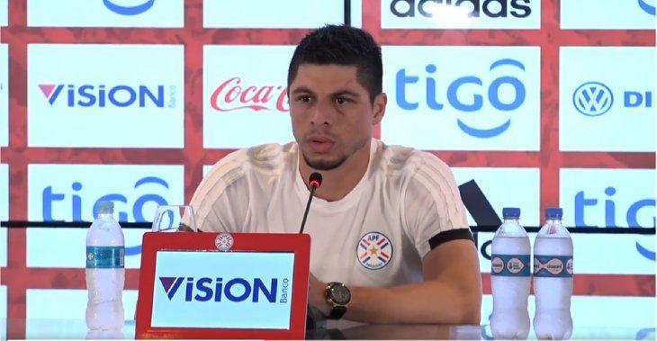Rodrigo Rojas habló este viernes en conferencia de prensa.