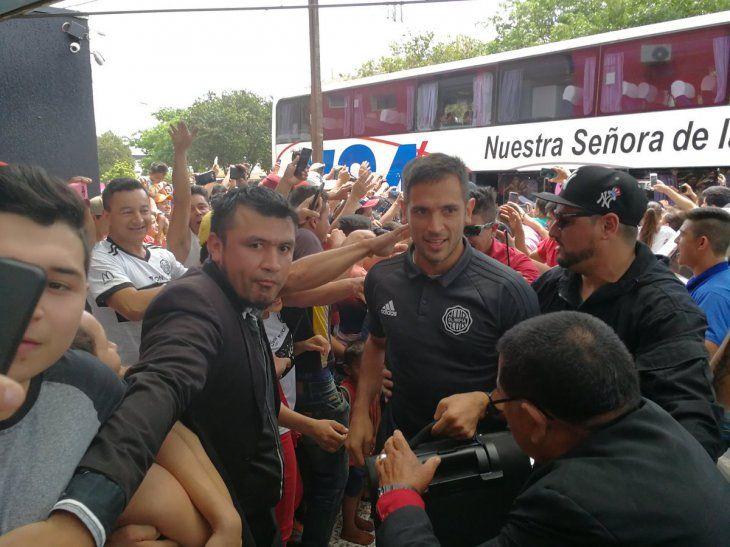Olimpia vuelve a Pedro Juan después de un año.