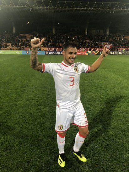 Gibraltar venció a la Armenia de Mkhitaryan.